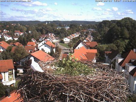 Webcam Bad Waldsee, Germany